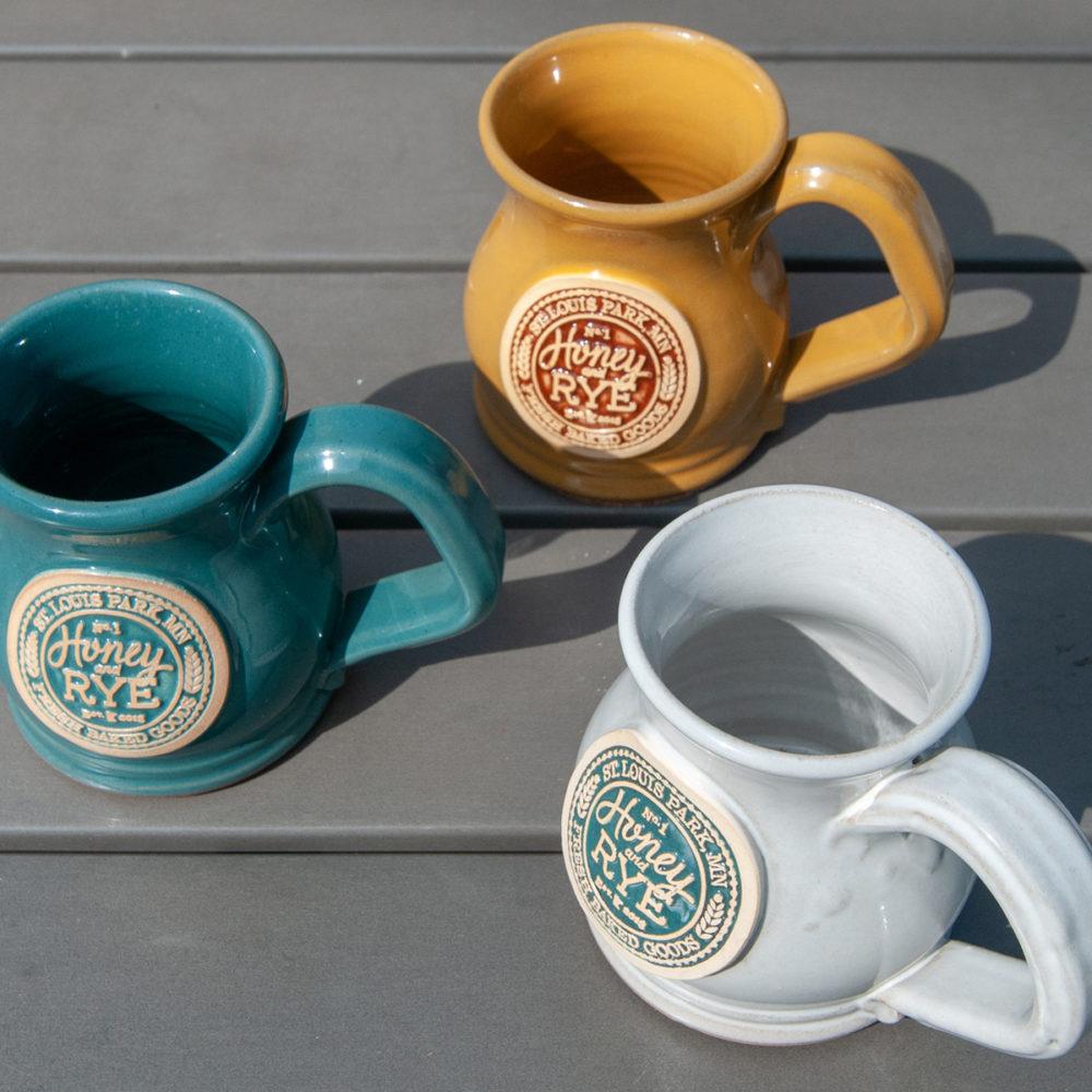 Honey and Rye ceramic mug